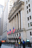 Wall Street View, New York City Royalty Free Stock Photography