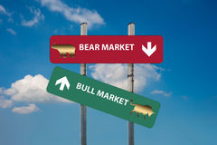 Wall street words in a financial concepts background Stock Images