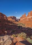 Wall Street Wysklepia parka narodowego 3 Zdjęcia Royalty Free