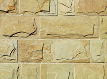 Wall. Structure with special masonry stones Stock Photography