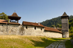 Wall of Studenica Monastery Stock Photo