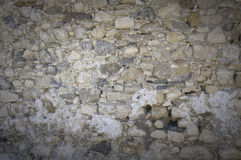 Wall surface at Kales Fort in Lerapetra Stock Photography