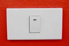Wall switch Royalty Free Stock Photos