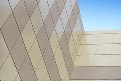 The wall of a tall building Royalty Free Stock Images