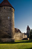 The wall of Tallin Royalty Free Stock Images