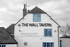 The wall tavern pub stock photo