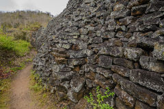 Wall of Tears, Isabela island, Ecuador Stock Photography