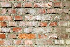 Wall of terracotta bricks Stock Photo