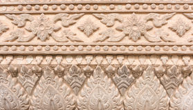 Wall. Terracotta motifs used to decorate the walls Stock Photography
