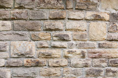 Wall texture. With aged, old stones Royalty Free Stock Photography