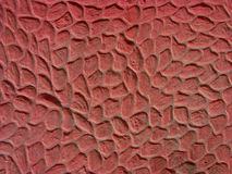 Wall texture. Red wall texture royalty free stock photography