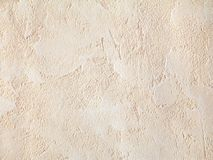 Wall texture. Beige wall texture close-up royalty free stock photography