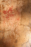 Wall texture. Plastered aged noisy grungy wall Royalty Free Stock Photo