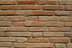 Wall texture. Old red brick wall texture royalty free stock image