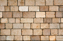 Wall texture. Of stone blocks Stock Photo