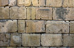 Wall texture. Roman wall ,detail royalty free stock images