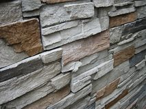Wall texture. Stone wall in nature colours Stock Photo