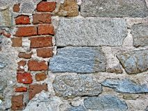 Wall texture. Old brick and stonewall texture. For background and texture Stock Image