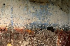 Wall texture. Decadent wall texture royalty free stock photos