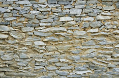 Wall texture background. Detail of rock wall texture Royalty Free Stock Photo