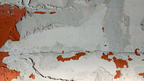 Wall texture. Chipping paint on solid wall texture stock image