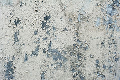 Wall texture with cracked white paint Stock Photo