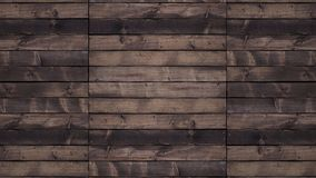Wall texture in dark brown tone with horizontal boards royalty free stock photo