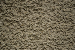 Wall texture. Gray plaster wall, background, texture Stock Photos