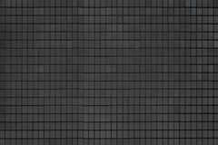 Wall texture. Grey and black mosaic wall texture and background Royalty Free Stock Images