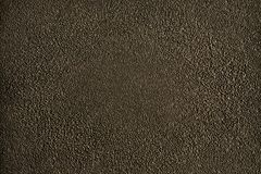 Wall texture with pinch. The old wall high texture detail in dark brown with pinch on the surface Stock Photography