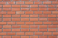 Wall texture. Wall red brick texture detail royalty free stock photography