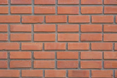Wall texture. Wall red brick texture detail Stock Photography