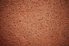 Wall texture red brown background Royalty Free Stock Images