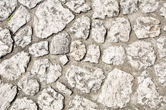Wall texture. White stone wall oryginal background Royalty Free Stock Images