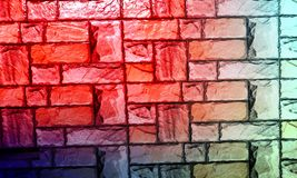 Wall Textured background with colourfull effect background. Backgroundhead, light. stock photography