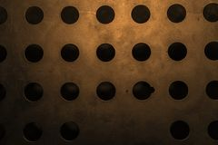 The wall textures. The random industry wall textures stock image