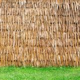 Wall of Thai farmer cottage Stock Images