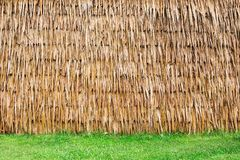 Wall of Thai farmer cottage Stock Photography