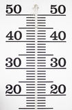 Wall Thermometer Royalty Free Stock Image