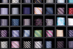 Wall of ties Stock Photography