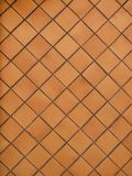 Wall tiles. Abstract composition from tiles forming diamonds royalty free stock photos