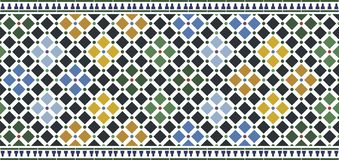 Wall tiles alhambra stock images