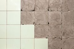 Wall without tiles Stock Image