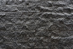 Wall tiles Grey stone tile wall pattern. background Royalty Free Stock Photo