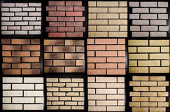 Wall tiles sample Stock Photography