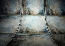 Wall with tiles texture, empty interior royalty free illustration