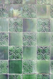 Wall tiles with typical old Lisbon Stock Image