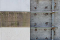 Wall tiles unfinish Royalty Free Stock Image
