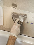 Wall Tiling Royalty Free Stock Photos