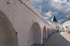 Wall in Tobolsk Kremlin Stock Images
